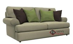 Andrew Loveseat with Down-Blend Cushions by Bernhardt at Savvy Home. $1,899.00