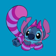 Stitch as the Cheshire Cat