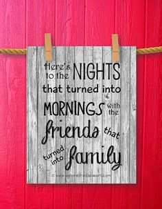 Barnwood Art Gifts for Best Friends Quote by WeLovePrintableArt, $5.00