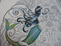 Colorindo Cabelo da Sereia - Oceano Perdido