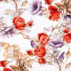 5 servilletas rosas blancas serviettentechnik napkins flores motivservietten 1//4