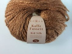 Rowan Kidsilk Kaffe Fasett Turnip Brown Yarn  Kid Mohair  on Etsy, $24.00
