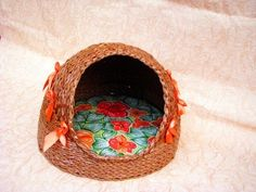 Tutorial - Cat kennel - see also part 1 for the bottom - Домик для кошки своими руками. Часть 2. / home for cats