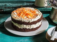 Carrot Cake με κακάο (19.04.16)