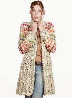 María Cielo: Sacos tejidos sin patrón
