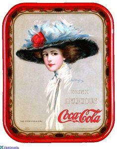 Coca~Cola tray