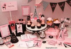 Paris Themed Party by Paper Glitter