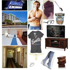 Relaxing At The Hotel With Hubby Dean Ambrose Before Smackdown Tomorrow by alyssaclair-winchester on Polyvore featuring Rebel Yell, Steve Madden, Ermanno Scervino Lingerie, Allurez, Larke, Leick, Georg Jensen, WWE and DeanAmbrose