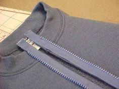 How to Put a Zipper in a Sweatshirt | eHow | eHow