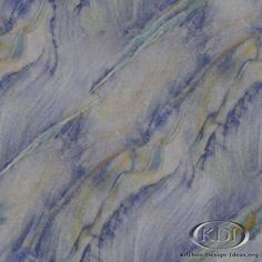 Azul Imperial Granite  (Kitchen-Design-Ideas.org)