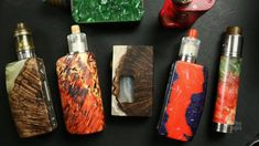 My Stabwood Vape Mod Collection Explained