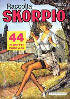 Fumetti EDITORIALE AUREA, Collana SKORPIO RACCOLTA n° 334 MARS 2002