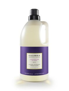 Lavender Pine Laundry Detergent | Caldrea - I wonder if this smells as wonderful as my imagination conjures??