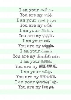 mom poem free printable--perfect gift for mothers day