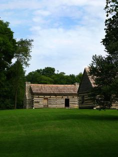 The First Home of President Andrew Jackson at the Hermitage in Hermitage, TN