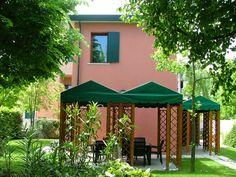 Gazebo And house view! Bed And breakfast Al Giardino Venice Italy!