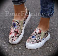 Pantofi Sport Flower