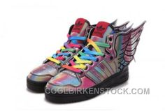 http://www.coolbirkenstock.com/rainbow-jeremy-scott-x-adidas-originals-js-wings-20-shoes-lastest-hcdjf.html RAINBOW JEREMY SCOTT X ADIDAS ORIGINALS JS WINGS 2.0 SHOES LASTEST HCDJF Only $80.14 , Free Shipping!