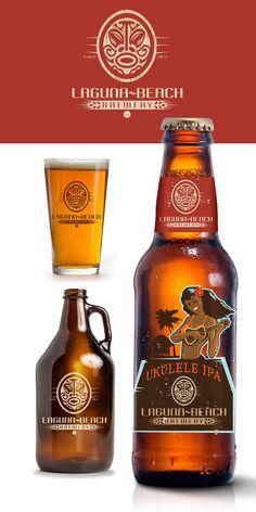 Logo / branding design for Laguna Beach Brewery by pmo