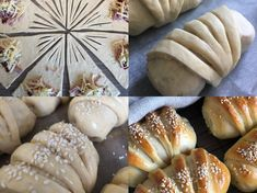 Dessert Drinks, Dessert Recipes, Desserts, Bread Shaping, Lunch To Go, Bread And Pastries, Sweet And Salty, Diy Food, No Bake Cake