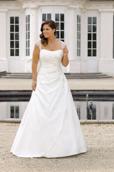 Wedding dresses XXL - Wedding dresses XXL by Ladybird bridal .- Brautkleider XXL – Hochzeitskleider XXL by Ladybird Brautmoden Bridal Gowns XXL – Bridal Gowns XXL by Ladybird Bridal - Plus Size Brides, Plus Size Wedding Gowns, Plus Size Gowns, Lace Wedding Dress, Dream Wedding Dresses, Curvy Bride, Bridal Gowns, Marie, Grace Loves Lace