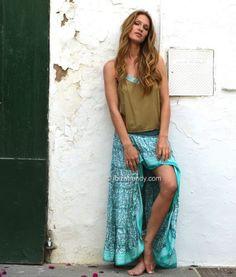 Falda Free Soft turquesa – Ibiza Trendy | Tienda online | Online store