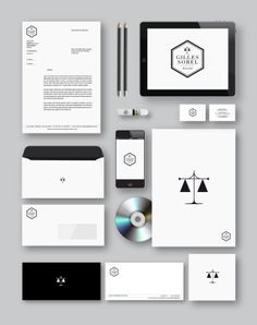 Gilles Sorel Lawyer by kreatica, via Behance