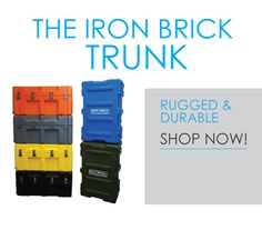The Iron Brick Trunk   STRONGEST College Trunk Part 62