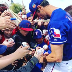 Cole Hamels is having a ball in Surprise!