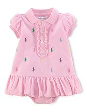 Baby Girls Classic Polo Dress