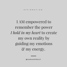 Say this #manifesting #affirmation over and over again to spark the magic of the Universe and The Law of Attraction. xo