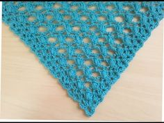 """Hello everybody, """"Lidia Crochet Tricot (Lidia Crochet Knitting) is a channel where you can find many knitting tutorials (with a crochet, with the hooks, even. Crochet Scarf Easy, Crochet Blouse, Crochet Scarves, Crochet Shawl, Diy Crochet, Crochet Doilies, Crochet Clothes, Crochet Stitches, Crochet Patterns"""