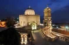 من الكنيسة مارجرجس بمنطقة مصر القديمة Cairo, Egypt, Taj Mahal, Building, Travel, Viajes, Buildings, Hand Warmers, Destinations