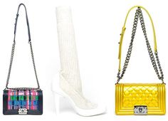 Chanel Shoes and Handbags Spring/Summer 2014  #shoes #bags
