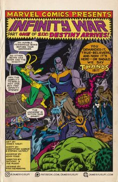 I drew one of my favorite scenes in Infinity War as a Silver-Age comic title-page! Marvel Comics Art, Marvel Heroes, Marvel Characters, Marvel Movies, Avengers Cartoon, Avengers Poster, Comic Poster, Vintage Comic Books, Vintage Comics