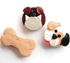 Hey, I found this really awesome Etsy listing at https://www.etsy.com/listing/96081279/magnet-dogs-and-bone-handmade-polymer