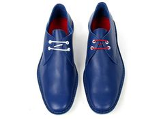 Kitsuné for Pierre Hardy Blue Shoes • Selectism