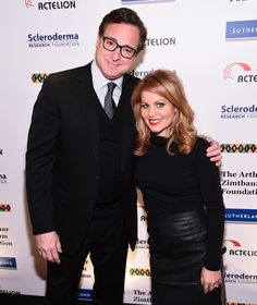 """Candace Cameron Bure on Instagram: """"Love this man with all my heart. @bobsaget #sclerodermabenefit"""""""