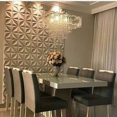 Wondering how to create the perfect dining room? All the dining room inspiration that you need to your interior design project are on this board. Take a look and let you inspiring! See more clicking on the image. Dining Room Colors, Dining Room Design, Interior Design Living Room, Living Room Decor, Dinner Room, Luxury Dining Room, Dining Room Inspiration, Inspiration Design, Home And Deco
