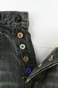 PRPS Jeans Buttons