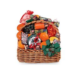Christmas Day Basket | A Mouthwatering feast of #Florida #Citrus & Gourmet Delights - Hale Groves #giftbasket