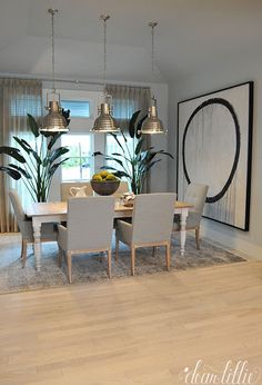 The HGTV Dream Home 2016 on Merritt Island with Delta Faucet by Dear Lillie Hgtv Dream Home 2016, Hgtv Dream Homes, Luxury Homes Dream Houses, My Dream Home, Dream Home Design, House Design, Dining Room Design, Dining Rooms, Dining Area
