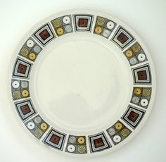 Kathie Winkle Rushstone plate. We had these when I was kid. I was obsessed with them.