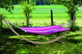 Star Candy Hammock Set  See here: http://www.simplyhammocks.co.uk/collections/hammock-sets/products/star-set-candy-garden-hammock-set-by-amazonas