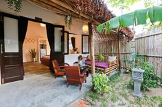 Check out this awesome listing on Airbnb: An Bang Purple Homestay in tp. Hội An