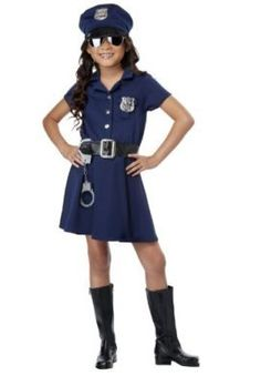 If you're in the market for a sexy police women costume, kids police costume, FBI agent, or cop costume, our police and prisoner costumes are sure to please. Kids Costumes Girls, Halloween Costumes For Girls, Girl Costumes, Halloween Kids, Costume Ideas, Cop Costume For Kids, Kpop Costume, Halloween Customs, Friend Costumes