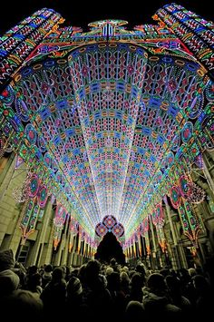 Festival of Lights - Ghent, Belgium..... I'm really beginning to wonder how far away Ghent will be