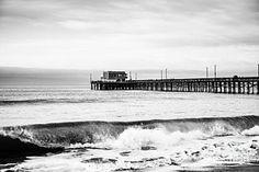 Ocean Photograph - Newport Beach Pier by Paul Velgos