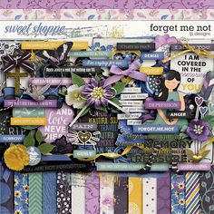 Forget Me Not by LJS Designs