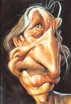 "Charlie Watts Caricature - The Drum Guy For The ""Rolling Stones"" - (JL)"